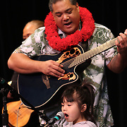 Live music on the Center House Stage at the 3rd Annual Live Aloha Hawaiian Cultural Festival at Seattle Center on September 12, 2010.