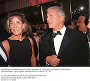 Tara Palmer-Tompkinson & Larry Gagosian  at the Vanity Fair Oscar Night Party. 1997 Mortons, Los Angeles 24 March 1997. Film. 97757/32<br />© Copyright Photograph by Dafydd Jones97751/29a<br />66 Stockwell Park Rd. London SW9 0DA<br />Tel 0171 733 0108