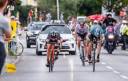 09.07.2019, Frohnleiten, AUT, Ö-Tour, Österreich Radrundfahrt, 3. Etappe, von Kirchschlag nach Frohnleiten (176,2 km), im Bild v.l.: Georg Zimmermann (Tirol KTM Cycling Team, GER), Alessandro Fedeli (Delko Marseille Provence, ITA) // v.l.: Georg Zimmermann (Tirol KTM Cycling Team, GER), Alessandro Fedeli (Delko Marseille Provence, ITA) during 3rd stage from Kirchschlag to Frohnleiten (176,2 km) of the 2019 Tour of Austria. Frohnleiten, Austria on 2019/07/09. EXPA Pictures © 2019, PhotoCredit: EXPA/ Johann Groder