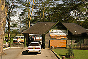 The entrance to Lake Nakuru National Park, Kenya.