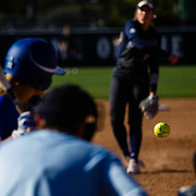 02 March 2017: The San Diego State Aztec's softball team open up the San Diego Classic against McNeese State Wednesday afternoon. The Aztecs lost a tough game against the Cowgirls 7-6.<br /> www.sdsuaztecphotos.com