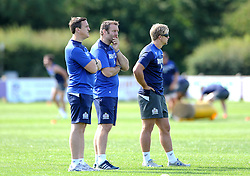 Academy Coach, Mark Irish overlooks Bristol Rugby first team training - Photo mandatory by-line: Dougie Allward/JMP - Mobile: 07966 386802 - 03/07/2015 - SPORT - Rugby - Bristol - Bristol Rugby Training Ground - Bristol Rugby Pre-Season Training