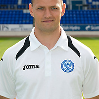 St Johnstone FC Season 2012-13 Photocall<br /> Graham Kirk, Sports Science<br /> Picture by Graeme Hart.<br /> Copyright Perthshire Picture Agency<br /> Tel: 01738 623350  Mobile: 07990 594431