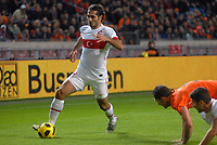 Fotball<br /> Nederland v Tyrkia<br /> Foto: Colorsport/Digitalsport<br /> NORWAY ONLY<br /> <br /> 17.11.2010<br /> Football - International Friendly The Netherlands vs Turkey. Turkish captain Hamiut Altintop attacks.