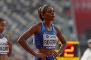 Raevyn Rogers (USA), 800 Metres Women - Round 1, Heat 2, during the 2019 IAAF World Athletics Championships at Khalifa International Stadium, Doha, Qatar on 27 September 2019.