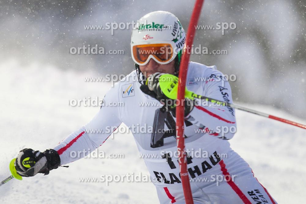 21.12.2011, Hermann Maier Weltcup Strecke, Flachau, AUT, FIS Weltcup Ski Alpin, Herren, Slalom 1. Durchgang, im Bild Manfred Pranger (AUT) in Aktion // Manfred Pranger of Austria in action during Slalom race 1st run of FIS Ski Alpine World Cup at 'Hermann Maier World Cup' course in Flachau, Austria on 2011/12/21. EXPA Pictures © 2011, PhotoCredit: EXPA/ Johann Groder