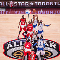 Special Olympics athletes tour the Royal Ontario Museum during 2016 NBA Allstar Weekend at the Enecare Center in Toronto, Canada on Sunday February 14, 2016.<br /> (Ben Solomon/SOI)