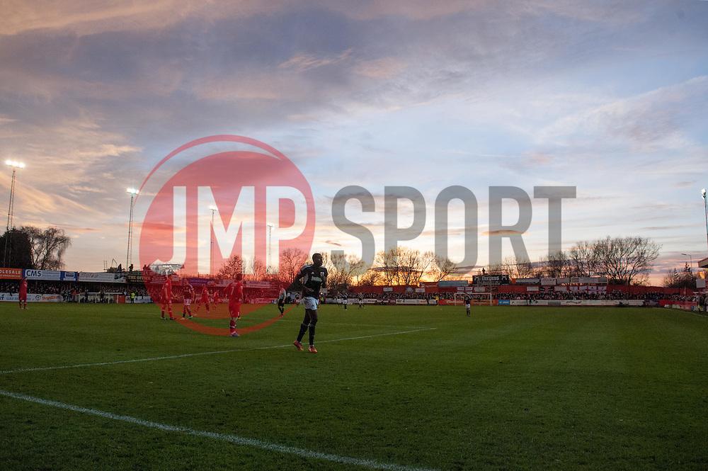 - Photo mandatory by-line: Dougie Allward/JMP - Tel: Mobile: 07966 386802 08/12/2013 - SPORT - Football - Tamworth - The Lamb Ground - Tamworth v Bristol City - FA Cup - Second Round
