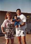 Baby Marco and his parents.