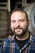 Kevin Martin &auml;r &ouml;lmakarchef [lead blender] p&aring; Cascade Brewing, Portland, Oregon. <br /> Foto: Christina Sj&ouml;gren