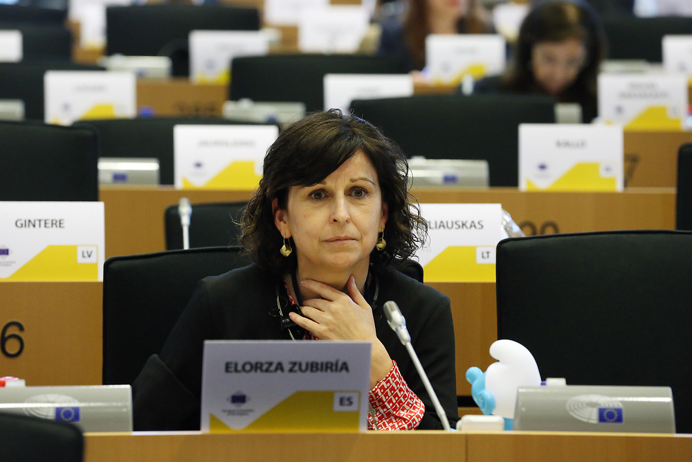 11 May 2017, 123rd Plenary Session of the European Committee of the Regions <br /> Belgium - Brussels - May 2017 <br /> <br /> Mrs ELORZA ZUBIR&Iacute;A Mar&iacute;a &Aacute;ngeles, Secretary-General for External Action of the Basque Government, Spain<br /> <br /> &copy; European Union / Patrick Mascart