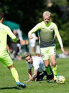 FODBOLD: Mads Holden (LSF) under kampen i Danmarksserien mellem Kastrup Boldklub og Ledøje-Smørum Fodbold den 19. august 2017 på Røllikevej i Kastrup. Foto: Claus Birch