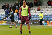 Swansea City forward Courtney Baker-Richardson (46) warming up before the EFL Sky Bet Championship match between Queens Park Rangers and Swansea City at the Loftus Road Stadium, London, England on 13 April 2019.