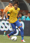 JUNE 09 2012:   Neymar (11) of Brazil during an international friendly match against Argentina at Metlife Stadium in East Rutherford,New Jersey. Argentina won 4-3.