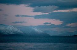 NORWAY TROMSO 4DEC15 - Arctic landscape near the city of Tromso during the polar night.<br /> <br /> jre/Photo by Jiri Rezac / Greenpeace<br /> <br /> © Jiri Rezac 2015