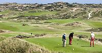 NOORDWIJK - Tee van Hole 1 van de Noordwijkse Golfclub COPYRIGHT KOEN SUYK