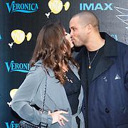 NLD/Amsterdam/20150518 - IMAX-première van X-Men: Apocalypse, Laura Ponticorvo en partner