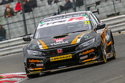 Dan Cammish - Halfords Yuasa Racing - Honda Civic Type R during the Dunlop MSA British Touring Car Championship at Brands Hatch, Fawkham, United Kingdom on 8 April 2018. Picture by Aaron  Lupton.