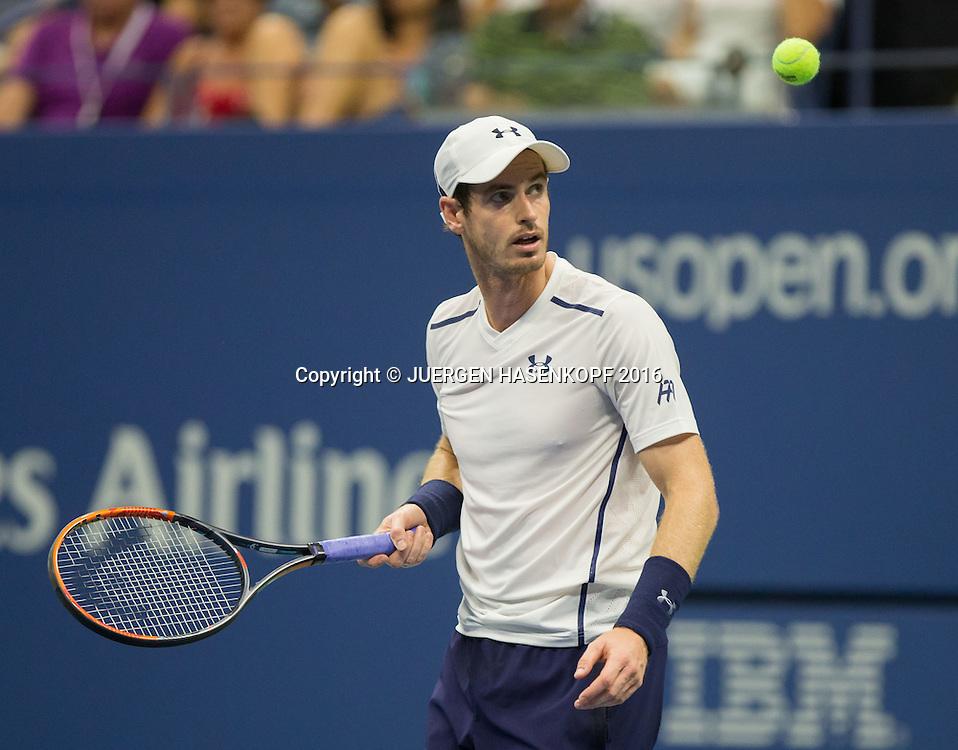 ANDY MURRAY (GBR)<br /> <br /> Tennis - US Open 2016 - Grand Slam ITF / ATP / WTA -  USTA Billie Jean King National Tennis Center - New York - New York - USA  - 1 September 2016.