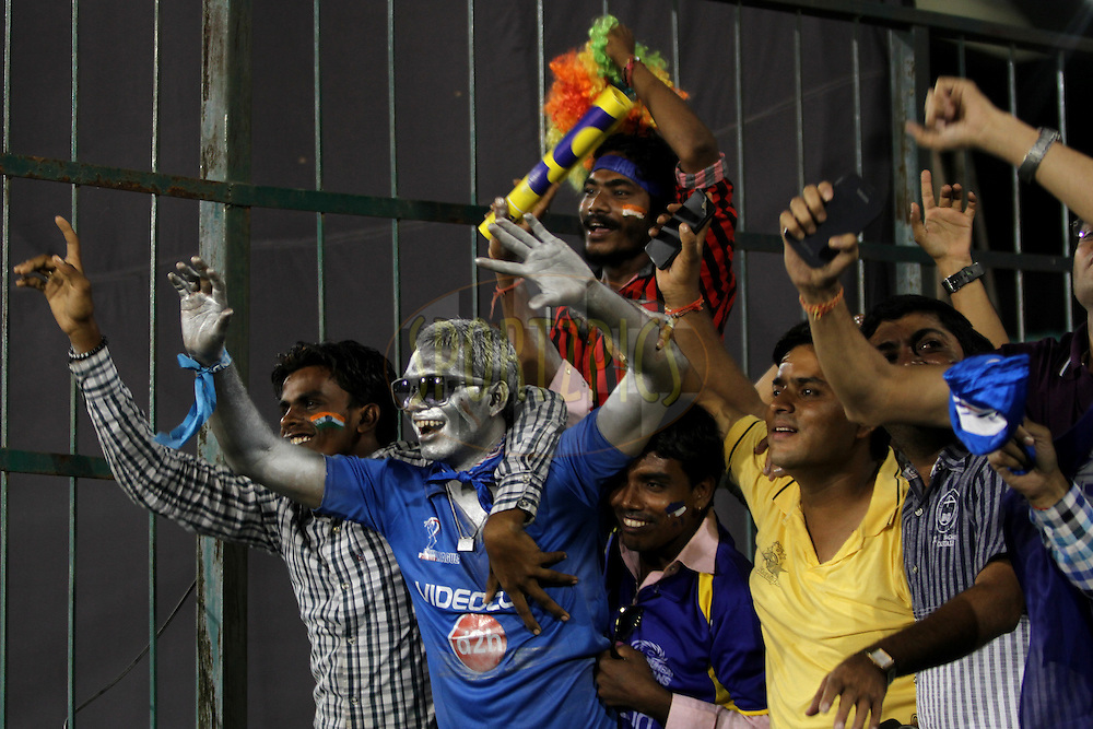 Cricket Lover during the qualifier 4 match of the Oppo Champions League Twenty20 between the Mumbai Indians and the Southern Express held at the Chhattisgarh International Cricket Stadium, Raipur, India on the 14th September 2014<br /> <br /> Photo by:  Deepak Malik / Sportzpics/ CLT20<br /> <br /> <br /> Image use is subject to the terms and conditions as laid out by the BCCI/ CLT20.  The terms and conditions can be downloaded here:<br /> <br /> http://sportzpics.photoshelter.com/gallery/CLT20-Image-Terms-and-Conditions-2014/G0000IfNJn535VPU/C0000QhhKadWcjYs