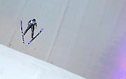 Wolfgang Loiztl of Germany while training series during FIS World Cup Ski Jumping in Wisla...Poland, Wisla, January 09, 2013...Picture also available in RAW (NEF) or TIFF format on special request...For editorial use only. Any commercial or promotional use requires permission...Photo by © Adam Nurkiewicz / Mediasport