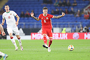 Wales defender Joe Rodon during the Friendly match between Wales and Belarus at the Cardiff City Stadium, Cardiff, Wales on 9 September 2019.