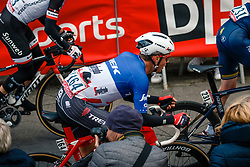DANIEL Gregory of Trek - Segafredo during 2nd lap on local circuit, UCI Men WorldTour 81st La Flèche Wallonne at Huy Belgium, 19 April 2017. Photo by Pim Nijland / PelotonPhotos.com | All photos usage must carry mandatory copyright credit (Peloton Photos | Pim Nijland)