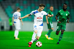 Amadej Brecl of Celje during football match between NK Olimpija Ljubljana and NK Celje in 3rd Round of Prva liga Telekom Slovenije 2018/19, on Avgust 05, 2018 in SRC Stozice, Ljubljana, Slovenia. Photo by Vid Ponikvar / Sportida