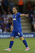 AFC Wimbledon midfielder Dannie Bulman (4) during the Pre-Season Friendly match between AFC Wimbledon and Crystal Palace at the Cherry Red Records Stadium, Kingston, England on 27 July 2016. Photo by Stuart Butcher.