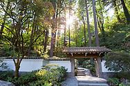 Entrance to the Portland Japanese Garden.<br /> Photo: Christina Sjogren