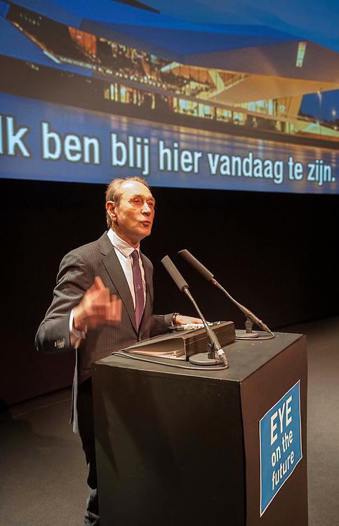 Nederland, Amsterdam,  7 febr 2013<br /> MRA conferentie in EYE<br /> <br /> Foto(c): Michiel Wijnbergh