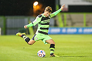 Forest Green Rovers Corbey Moore during the The County Cup match between Forest Green Rovers and Bristol City at the New Lawn, Forest Green, United Kingdom on 23 November 2015. Photo by Shane Healey.