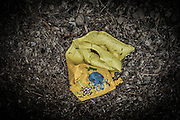 Feb. 24, 2016 - Lesbos, Greece - <br /> An inflatable flotation device in Mytilene, island of Lesbos, Greece, on February 24, 2016. More than 110,000 migrants and refugees have crossed the Mediterranean to Greece and Italy so far this year, and 413 have lost their lives trying, the International Organization for Migration said on February 23, 2016. <br /> ©Exclusivepix Media