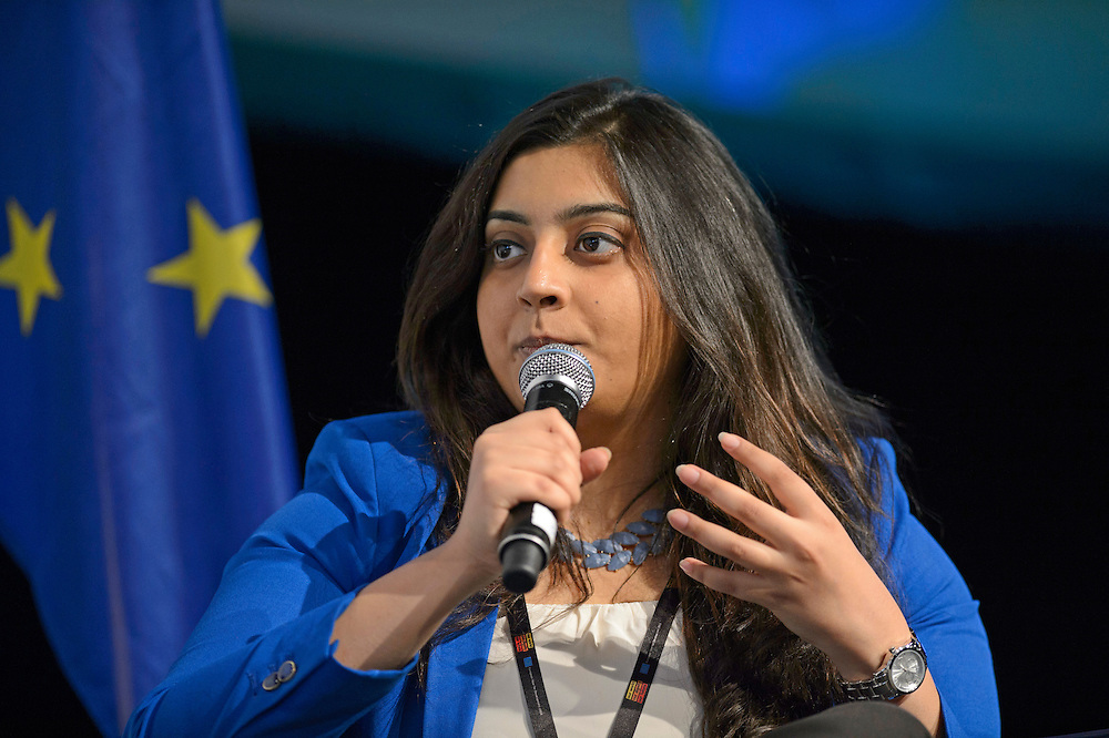 03 June 2015 - Belgium - Brussels - European Development Days - EDD - Gender - Ending gender inequality by 2030! - Tanvi Girotra , Future Leader © European Union