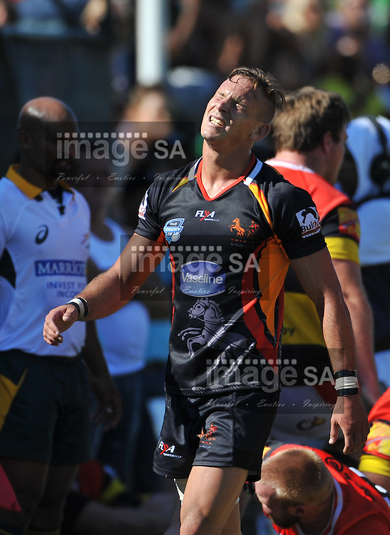 CAPE TOWN, SOUTH AFRICA - Saturday 28 February 2015, Wesley Flanagan of Vaseline Wanderers during the second round match of the Cell C Community Cup between Hamiltons and Vaseline Wanderers at the Stephan Oval, Green Point.<br /> Photo by Roger Sedres/ImageSA/SARU