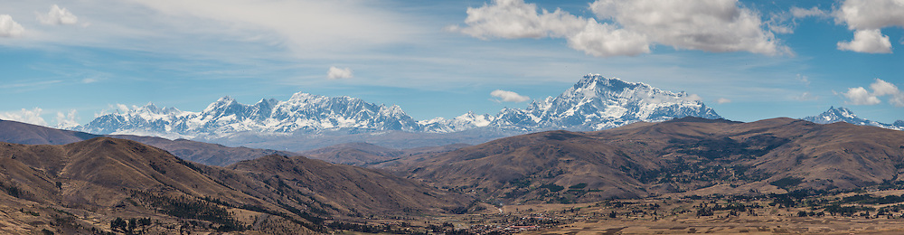 Apu Ausangate, at 6384 m, is the tallest of the twelve holy mountians (apua) surrounding the city of Cusco, Peru