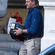 NLD/Amsterdam/20131030 - Jay C verlaat zijn hotel