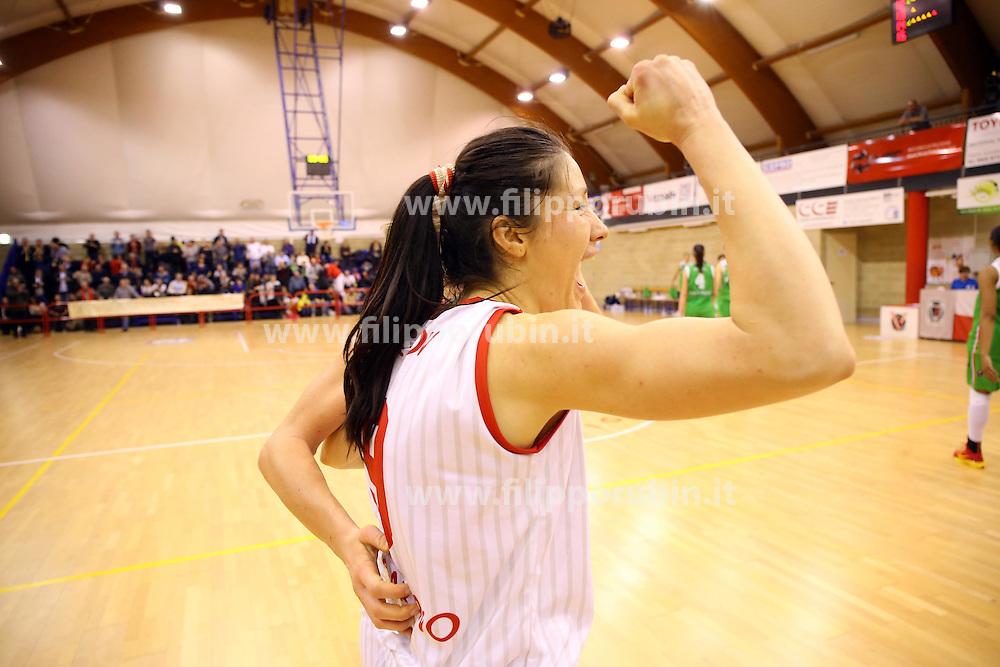 CIROV TANJA VASSALLI VIGARANO - RAGUSA<br /> CAMPIONATO ITALIANO BASKET A1-F 2014-2015<br /> VIGARANO (FE) 25-01-2015<br /> FOTO FILIPPO RUBIN