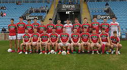 Mayo U20&rsquo;s who lined out in MacHale park against Leitrim.<br />