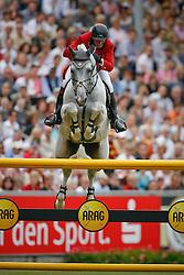 Lansink Jos (BEL) - Cavalor Cumano<br /> World Equestrian Games Aachen 2006<br /> © Hippo Foto-Dirk Caremans
