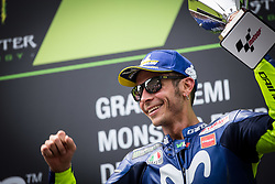 June 17, 2018 - Barcelone, Espagne - VALENTINO ROSSI - ITALIAN - MOVISTAR YAMAHA MotoGP - YAMAHA (Credit Image: © Panoramic via ZUMA Press)