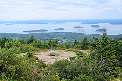 View - Cadillac Mountain, Acadia National Park, Mount Desert Island, Maine, USA