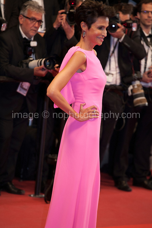 Farida Khelfa at the gala screening for the film It's Only the End of the World (Juste La Fin Du Monde) at the 69th Cannes Film Festival, Thursday 19th  May 2016, Cannes, France. Photography: Doreen Kennedy