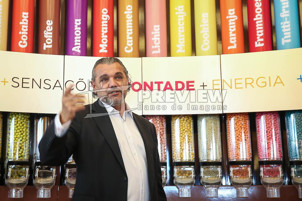 Ricardo Vontobel durante lançamento da loja conceito da Neugebauer, no Viva Open Mall, em Porto Alegre. FOTO: Jefferson Bernardes/ Agência Preview
