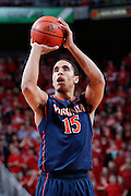 LOUISVILLE, KY - MARCH 7: Malcolm Brogdon #15 of the Virginia Cavaliers shoots a free throw against the Louisville Cardinals during the game at KFC Yum! Center on March 7, 2015 in Louisville, Kentucky. Louisville defeated Virginia 59-57. (Photo by Joe Robbins)