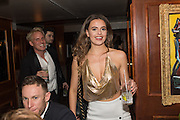 TORI LAMB;  Fraser Carruthers  and Harry Scofield birthday. Archie's club, 92b Old Brompton Rd. London. 11 February 2017