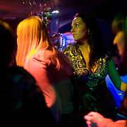 Youngsters at the Ultra club in Tyumen. The Siberian city is enjoying a flush of cash from its oil and gas reserves.