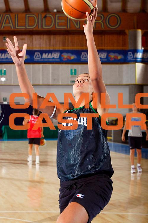 DESCRIZIONE : Bormio Raduno Nazionale Italiana Femminile<br /> GIOCATORE : Monica Bonafede<br /> SQUADRA : Nazionale Italia Donne<br /> EVENTO : Raduno Nazionale Italiana Femminile<br /> GARA : <br /> DATA : 11/07/2008 <br /> CATEGORIA : Penetrazione<br /> SPORT : Pallacanestro <br /> AUTORE : Agenzia Ciamillo-Castoria/G.Cottini