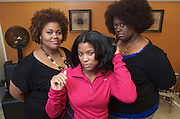 Photos for natural hair story, photographed Sunday, Dec. 15, 2012 in Louisville, Ky. (Photo by Brian Bohannon/www.brianbohannon.com)