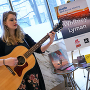 Visit Seattle Annual Meeting 2018. Whitney Lyman (musician), presented by 4U Gigs and Up Stream Music Event. Photo by Alabastro Photography.
